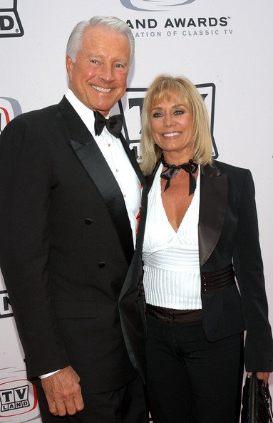 Lyle Waggoner and his wife Sharon