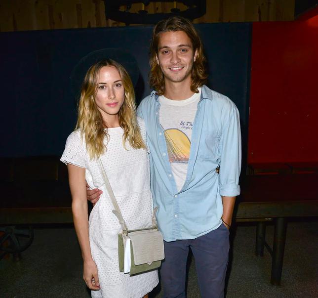 Luke Grimes and his Girlfriend Gillian