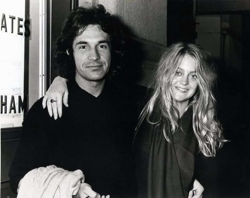 Bill and his first ex-wife Hawn