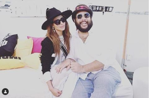 Nadia Hilker  is close with her friend.
