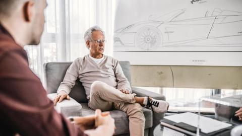Horacio Pagani owns the Pagani Automobilia