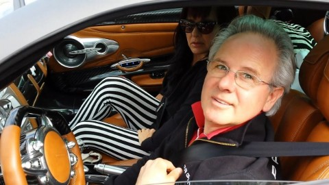 Horacio Pagani was already married by the age of 19