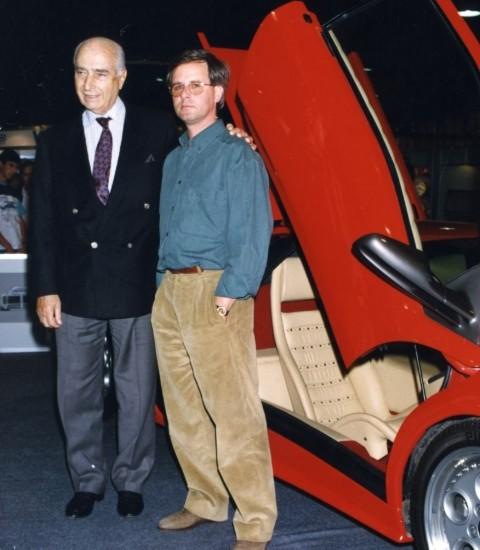 Fangio recommended Horacio to Lamborghini