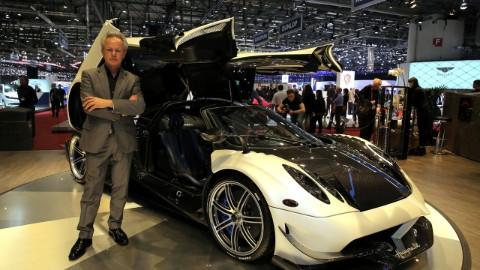 Horacio Pagani made the Huayra after his first car Zonda