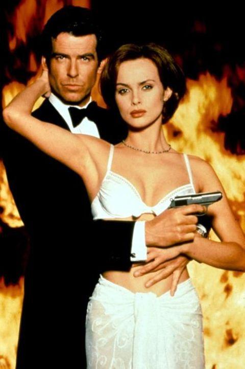 Izabella Scorupco appeared in movie as Bond's female sidekick
