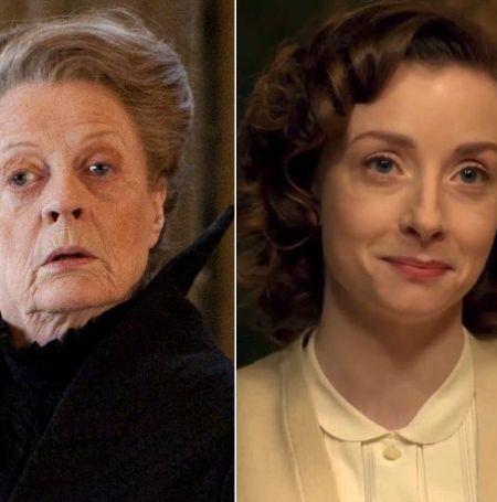 Fiona Glascott' biggest break till date is her role as Professor Minerva McGonagall.