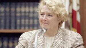 Betty Broderick during her trail