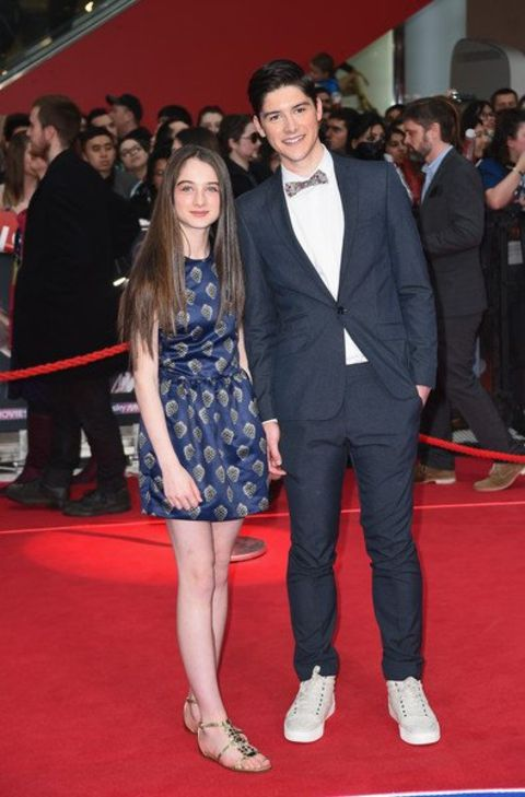 Raffey Cassidy  played in few movies and TV series.