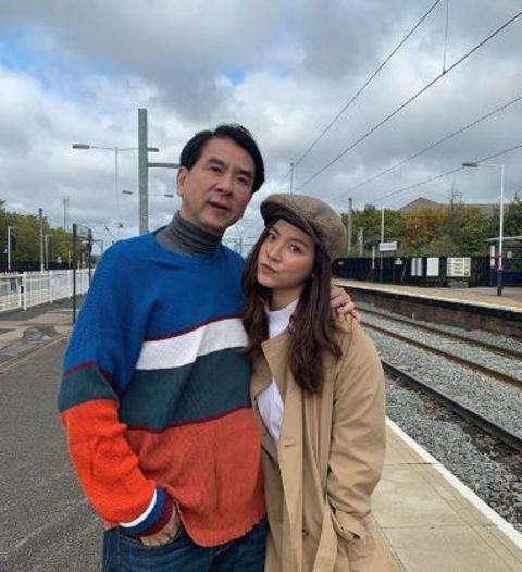 Pimchanok Luevisadpaibul is close with her father.