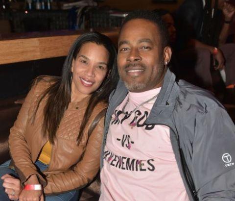 Lamman Rucker wife is Kelly Davis Rucker.