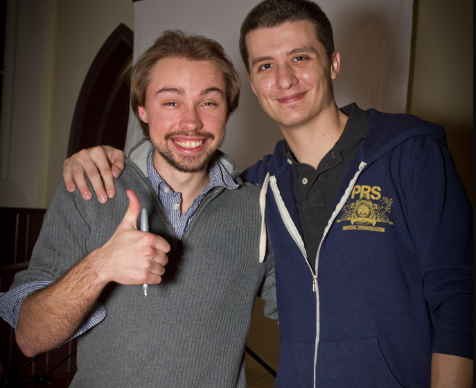 Ryan and Sergey