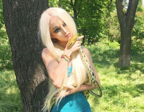 Valeria Lukyanova is a model.