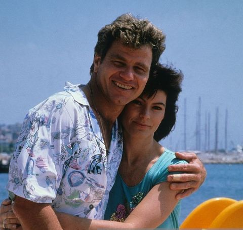 Martin Kove with his former wife