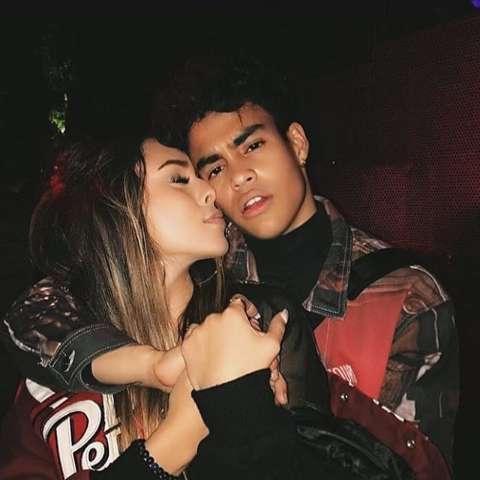Tiffany Bondoc grabbed by her ex-boyfriend, Edwin Honoret.
