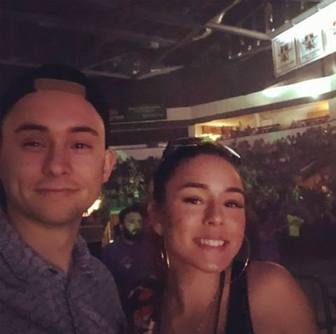 Instagram star, Tiffany Bondoc giving a pose along with her brother, Trevor Bondoc.
