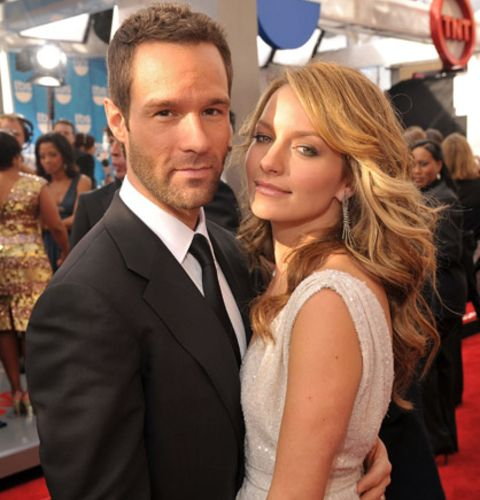 chris diamantopoulos  with hs wife