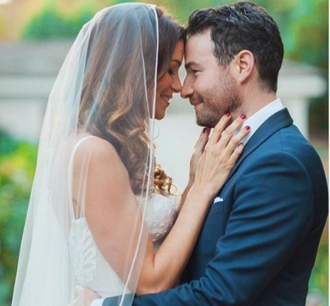 Courtney Henggeler tied the knot with her boyfriend.
