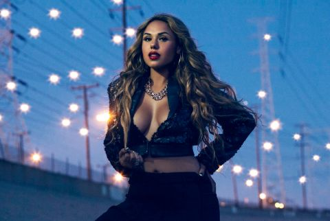 Kristinia DeBarge was in relationship with mystery boyfriend.
