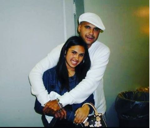 Kristinia DeBarge is close with her father.