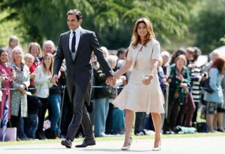 Mirka Federer and Roger Federer married after 8 years of being together.