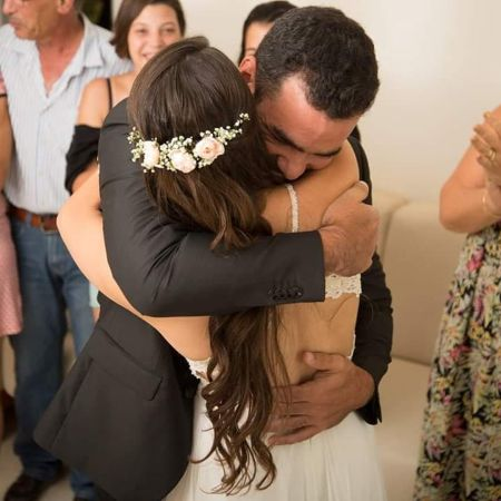 Maya Devir and Yehuda Devir exchanged vows on July 28, 2016.