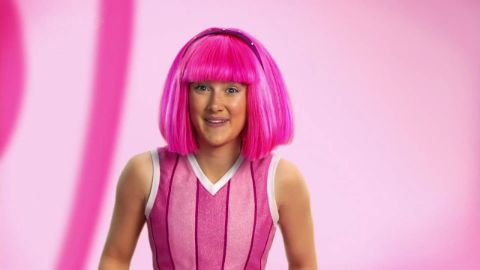 Julianna Rose Mauriello while acting on the series LazyTown.