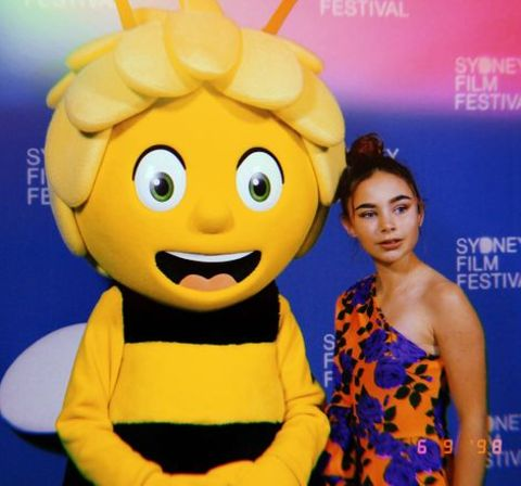 Coco Jack Gillies at the Maya The Bee 2 film premiere.