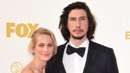 Joanne Tucker and Husband Adam Driver exchanged vows in June of 2013.