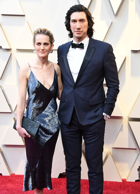 Joanne Tucker and Adam Driver first met when they were studying acting together.