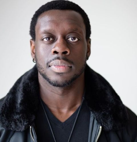 Ekow Quartey giving a pose in one of his photoshoots.