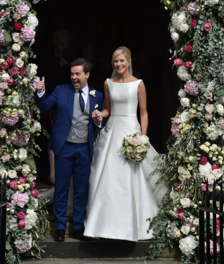 Declan Donnelly and Ali Astall Couple Big day