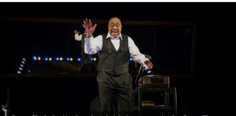 Barry Shabaka Henley at the stage