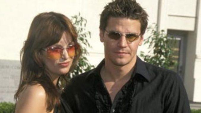 Ingrid Quinn divorced David Boreanaz on 1999.