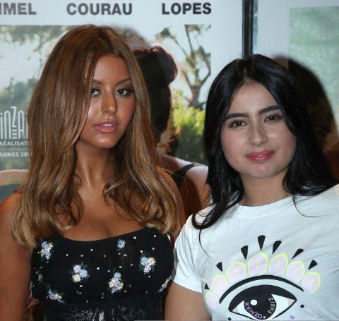 Actress, Mina Farid along with her co-star, Zahia Dehar.