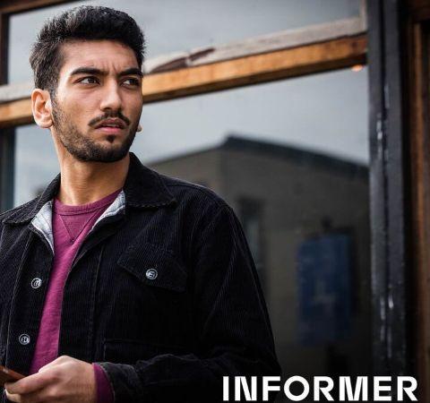 Nabhaan Rizwan in a black jacket.