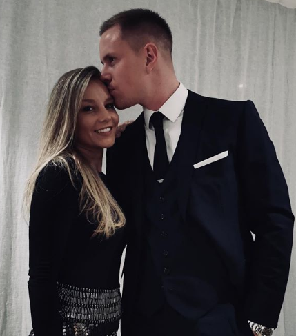 Stegen With His Wife