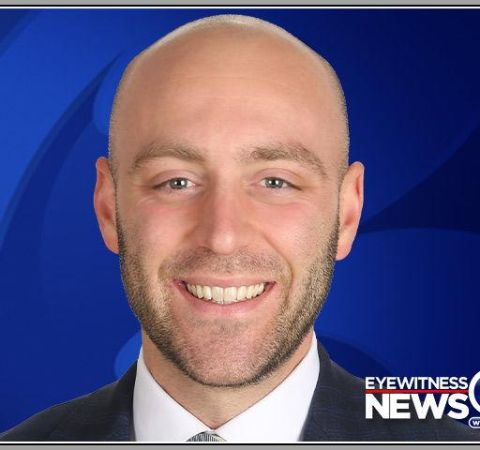 Elliott Polakoff poses for a photoshoot for WFSB network.