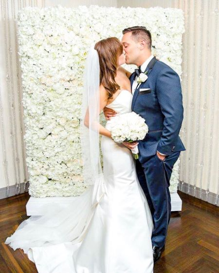 Amy Landino is married to Vincent Landino.