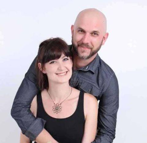 Matthew and his girlfriend.