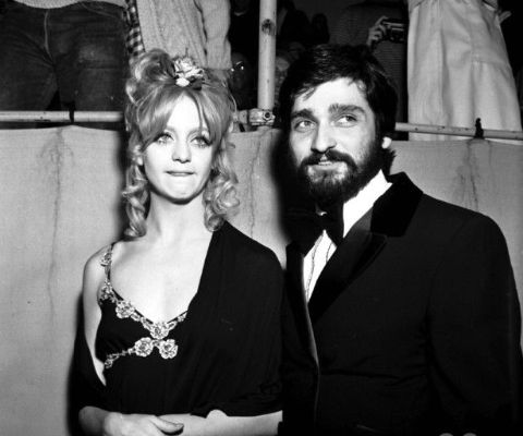 Gus Trikonis giving a pose with his ex-wife, Goldie Hawn.