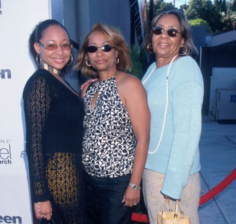 Lydia Gaulden with her mother and daughter Raven-Symone.