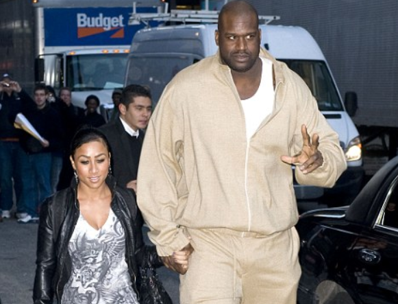 Nicole and Shaquille