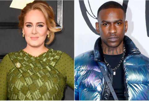 Skepta and Adele ignited romance rumors in 2019.
