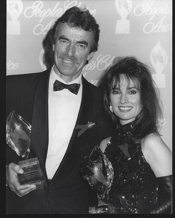 Susan Lucci, All My Children and Eric Braeden, Young and Restless Winners at The Annual People's Choice Awards, March 1992