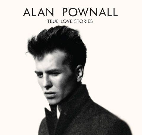 Alan Pownall's album cover of True Love Stories.