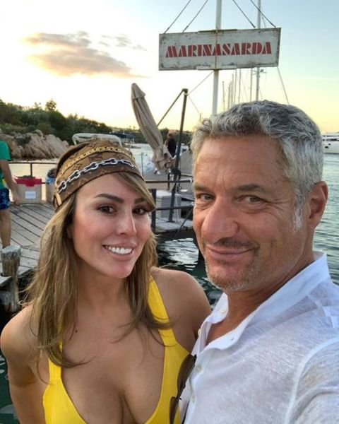 Rick Leventhal along with her fiance, Kelly Dodd.