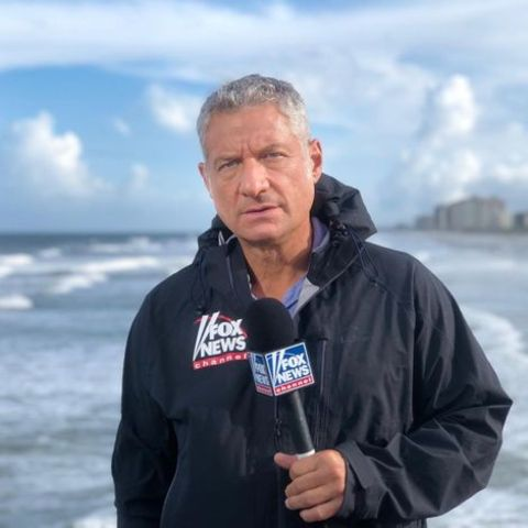 Rick Leventhal clicked while covering the news.