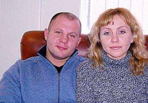 Oksana was Fedor's high school love.