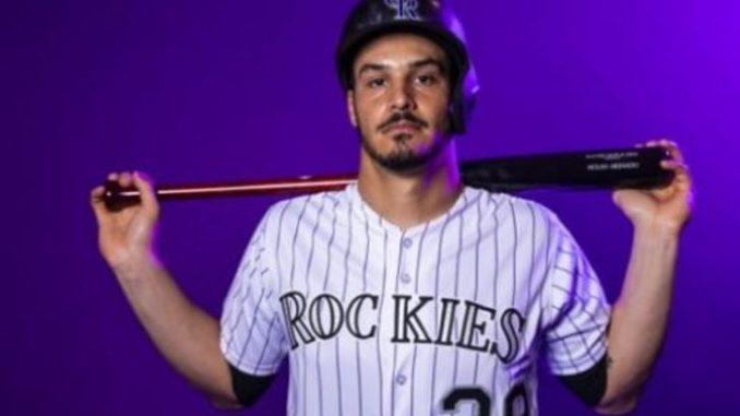 Nolan Arenado is a famous baseball player.