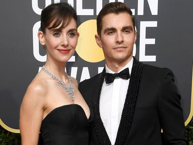 Dave Franco and Alison Brie